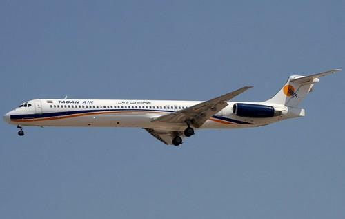 самолет Taban Air